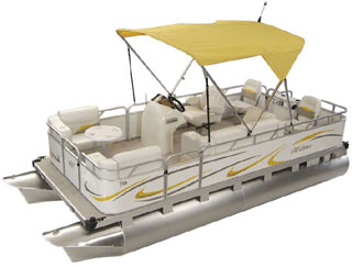 Pontoon Boats Ohio offer Small, Mini, and Compact Pontoons !